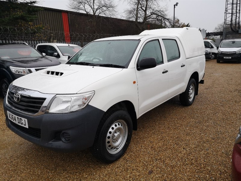 used Toyota Hilux 2.5 active in Newmarket-Suffolk