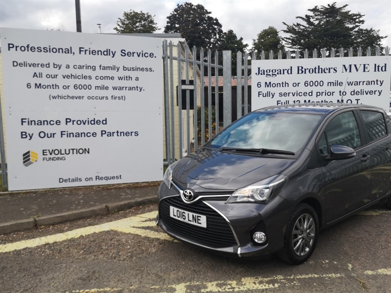 used Toyota Yaris VVT-I ICON in Newmarket-Suffolk