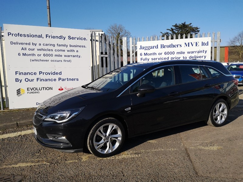 used Vauxhall Astra SRI CDTI S/S in Newmarket-Suffolk