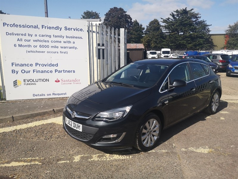 used Vauxhall Astra ELITE in Newmarket-Suffolk