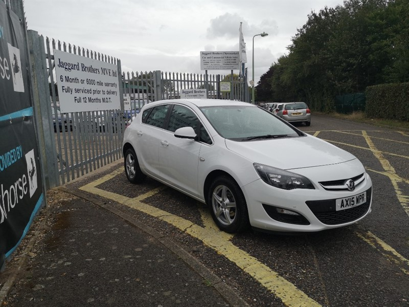 used Vauxhall Astra EXCITE in Newmarket-Suffolk