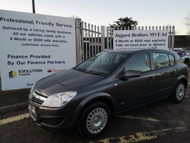 used Vauxhall Astra LIFE AC 16V E4 in Newmarket-Suffolk