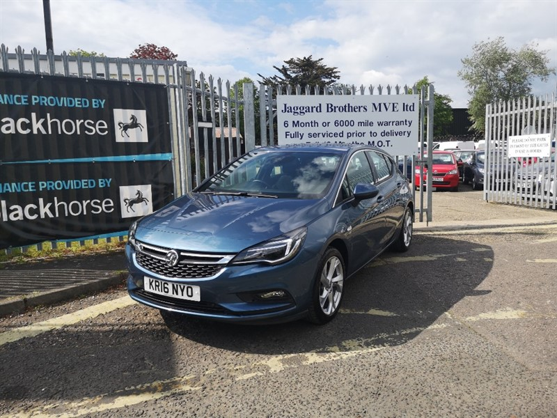 used Vauxhall Astra SRI NAV S/S in Newmarket-Suffolk