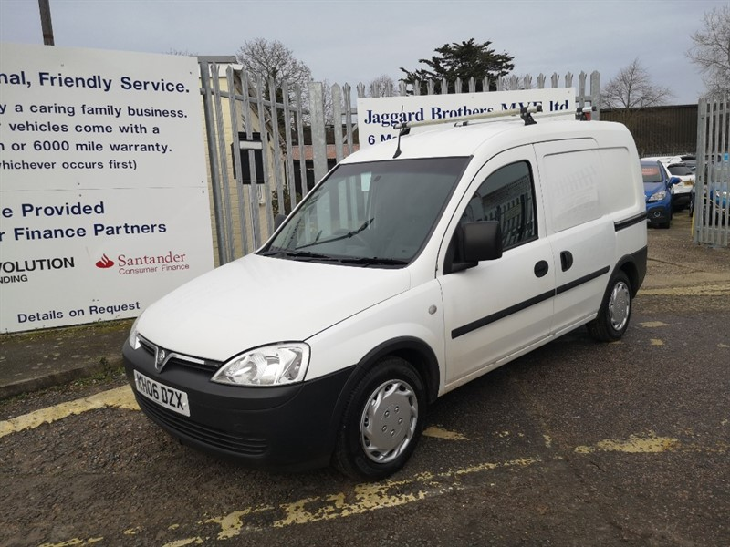 used Vauxhall Combo 1700 CDTI in Newmarket-Suffolk