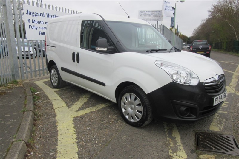 used Vauxhall Combo 2300 L1H1 CDTI S/S ECOFLEX in Newmarket-Suffolk