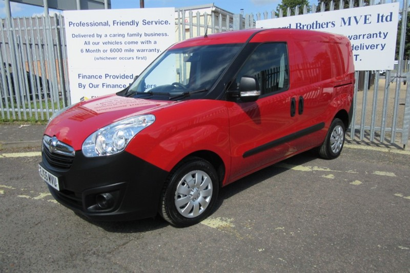 used Vauxhall Combo 2000 L1H1 CDTI S/S ECOFLEX in Newmarket-Suffolk