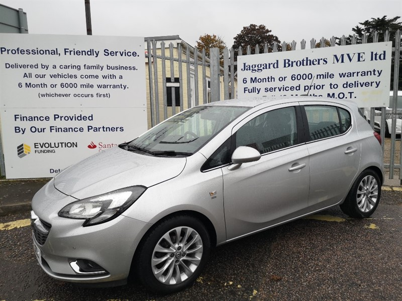 used Vauxhall Corsa SE in Newmarket-Suffolk