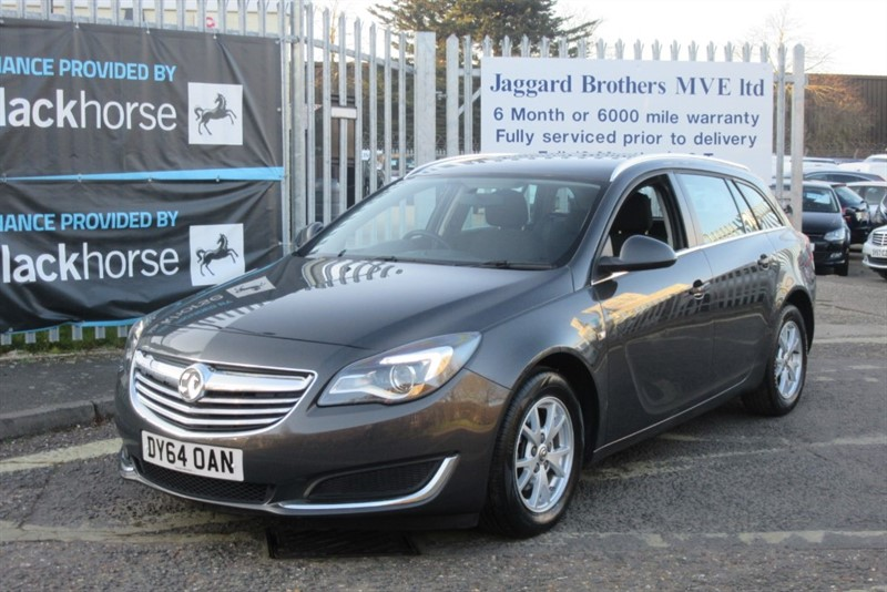 used Vauxhall Insignia DESIGN NAV CDTI ECOFLEX S/S in Newmarket-Suffolk