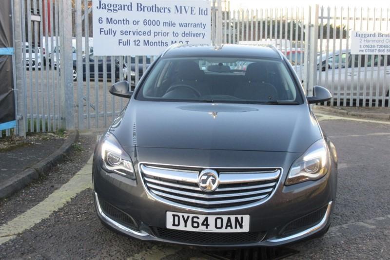 used Vauxhall Insignia DESIGN NAV CDTI ECOFLEX S/S in Newmarket-Suffolk