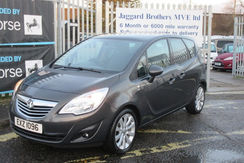 used Vauxhall Meriva SE in Newmarket-Suffolk