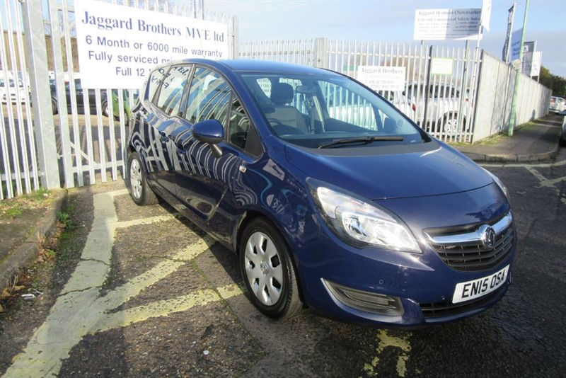 used Vauxhall Meriva EXCLUSIV AC in Newmarket-Suffolk