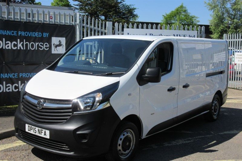 used Vauxhall Vivaro 2900 L2H1 CDTI P/V in Newmarket-Suffolk