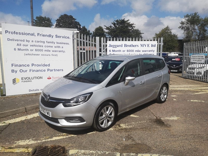 used Vauxhall Zafira Tourer SRI NAV in Newmarket-Suffolk