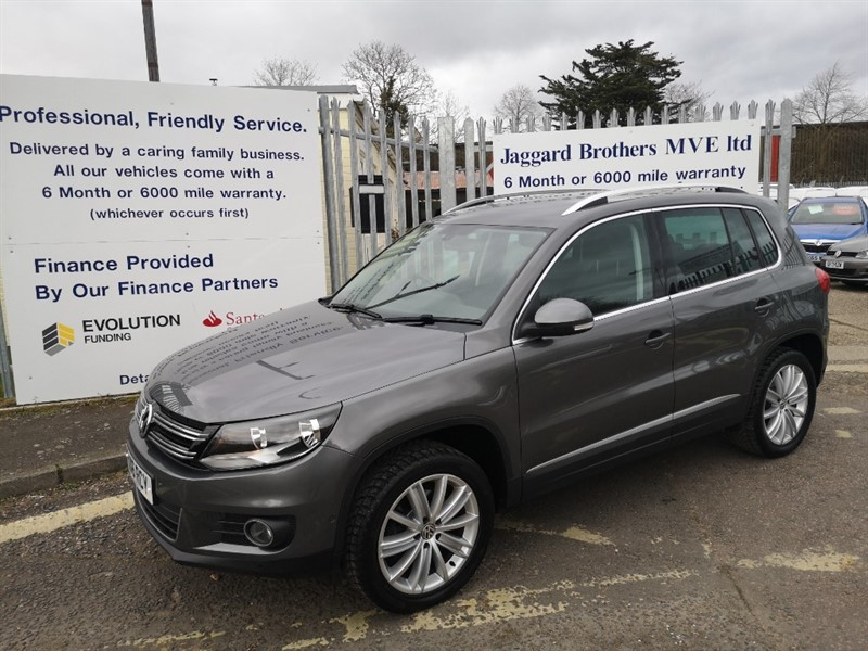 used VW Tiguan MATCH EDITION TDI BMT 4MOTION in Newmarket-Suffolk