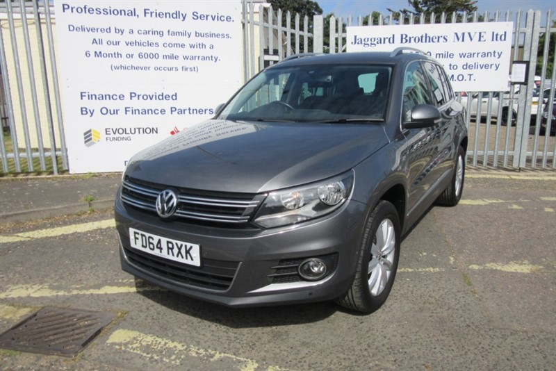used VW Tiguan MATCH TDI BLUEMOTION TECH 4MOTION DSG in Newmarket-Suffolk