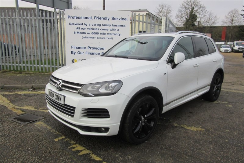 used VW Touareg V6 R-LINE TDI BLUEMOTION TECHNOLOGY in Newmarket-Suffolk