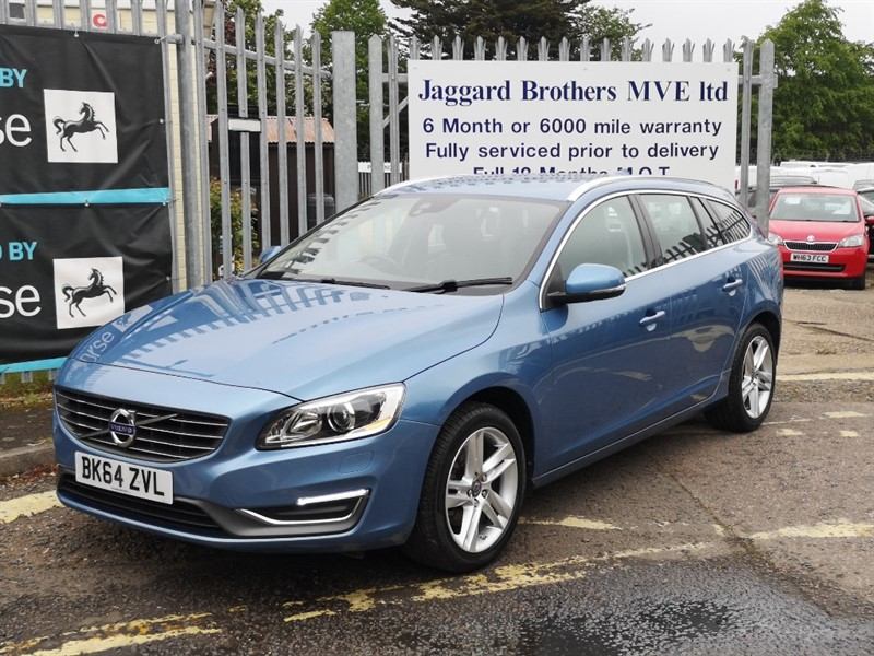 used Volvo V60 D2 SE LUX in Newmarket-Suffolk