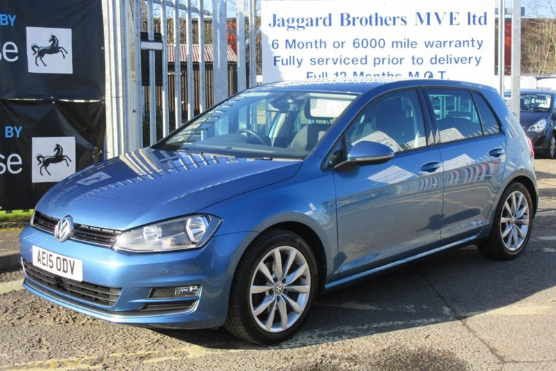 used VW Golf GT TDI BLUEMOTION TECHNOLOGY in Newmarket-Suffolk