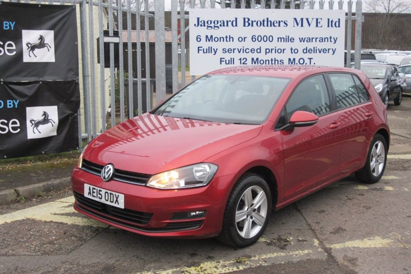 used VW Golf MATCH TDI BLUEMOTION TECHNOLOGY in Newmarket-Suffolk