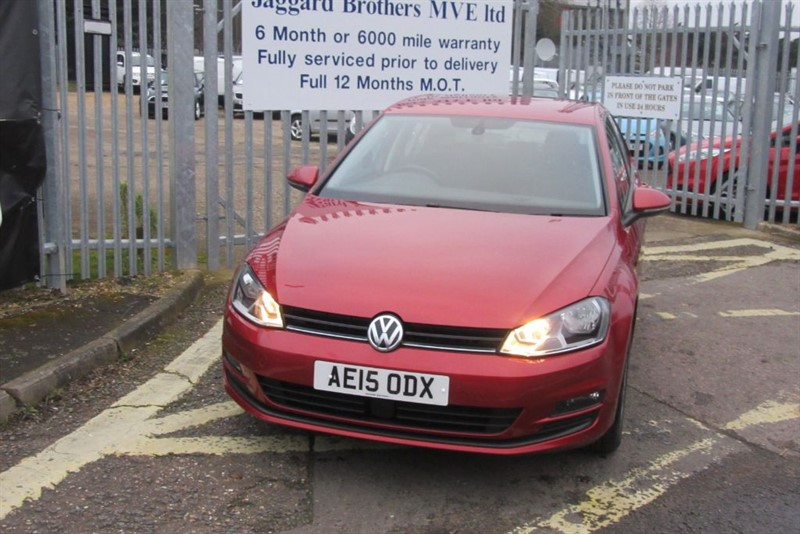 used VW Golf MATCH TDI BLUEMOTION TECHNOLOGY in Newmarket-Suffolk
