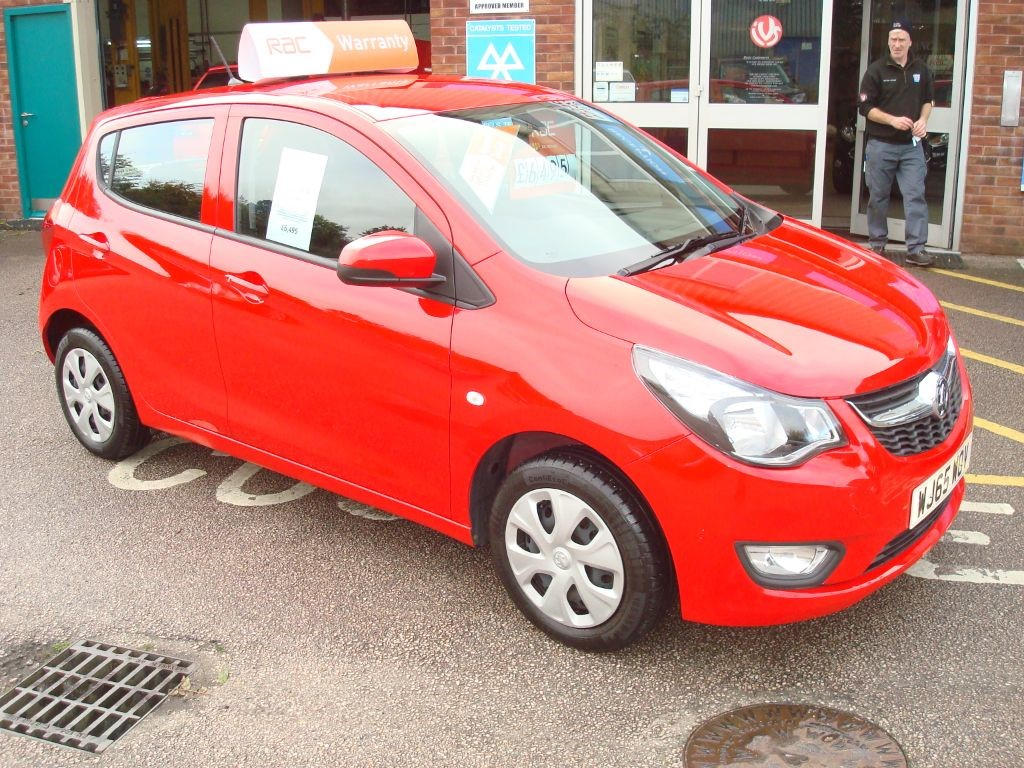 Used Flame Red Vauxhall Viva For Sale Devon