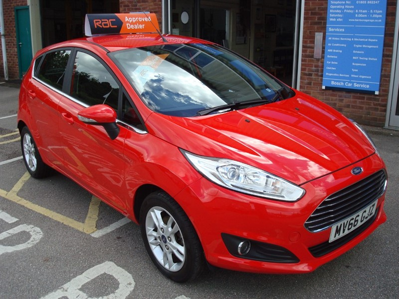 used Ford Fiesta ZETEC in totnes-devon