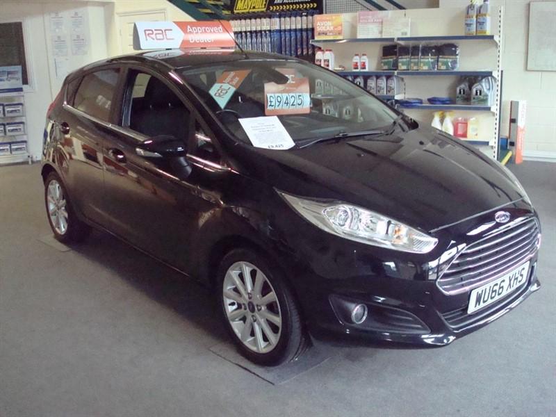 used Ford Fiesta TITANIUM in totnes-devon