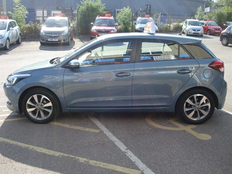 Used Metallic Blue Hyundai I20 For Sale Devon