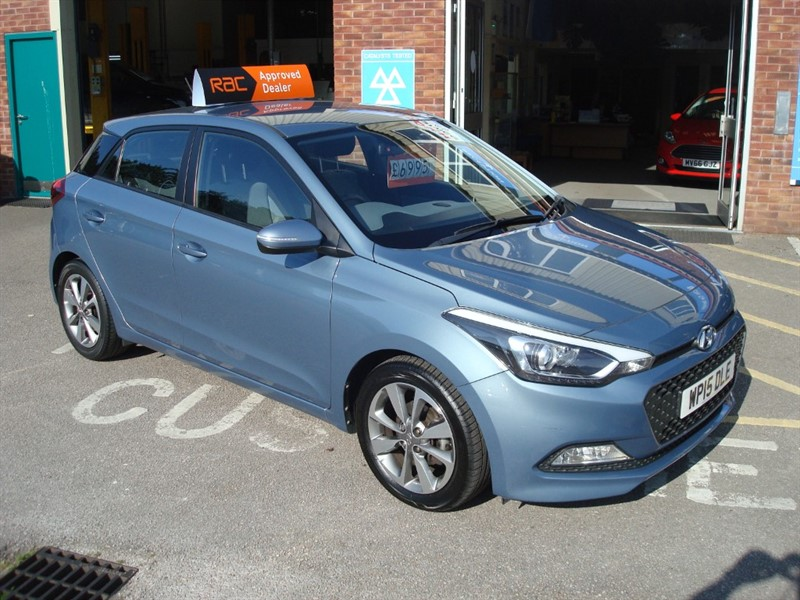 used Hyundai i20 MPI SE in totnes-devon