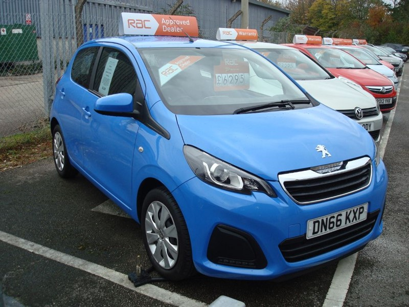 used Peugeot 108 ACTIVE in totnes-devon