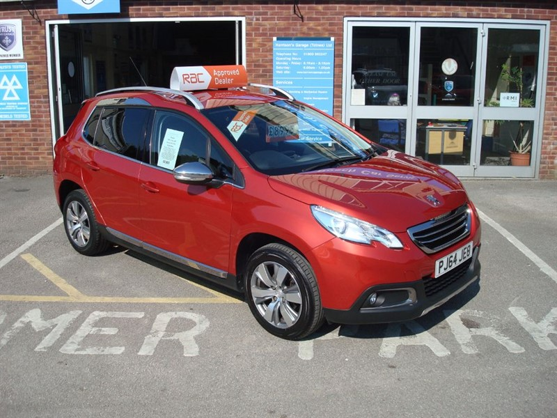 used Peugeot 2008 ALLURE in totnes-devon