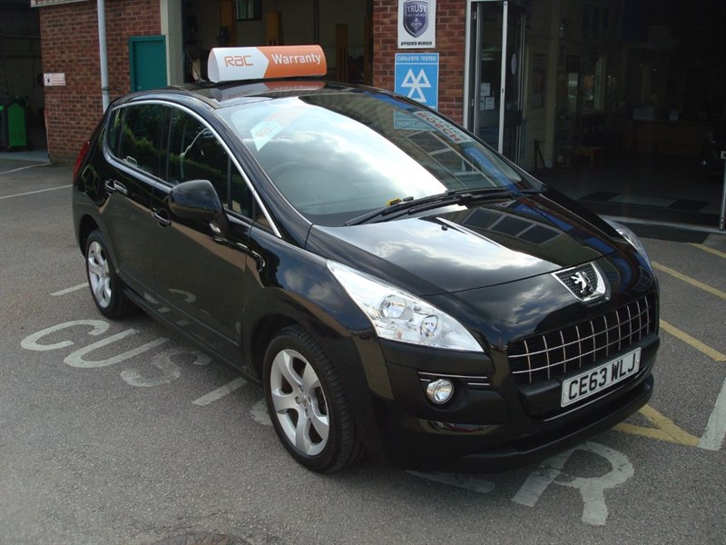 used Peugeot 3008 HDI ACTIVE in totnes-devon