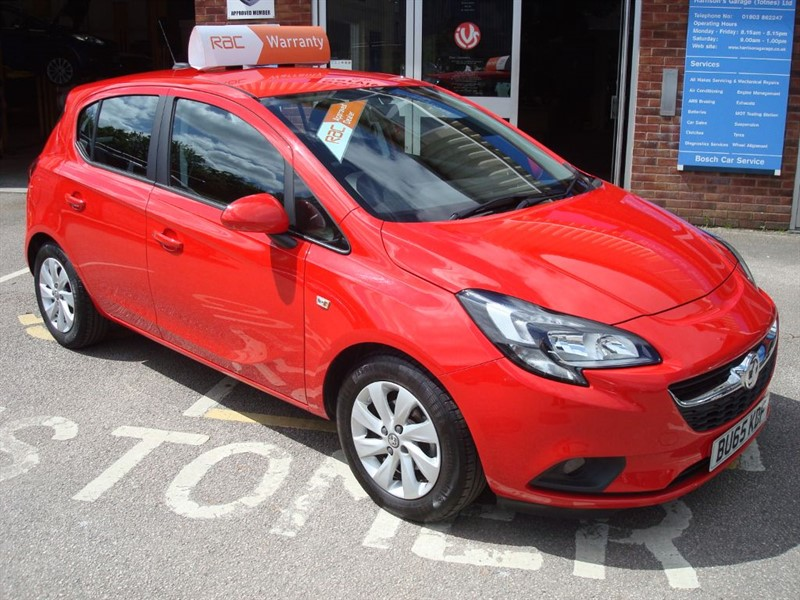 used Vauxhall Corsa DESIGN in totnes-devon