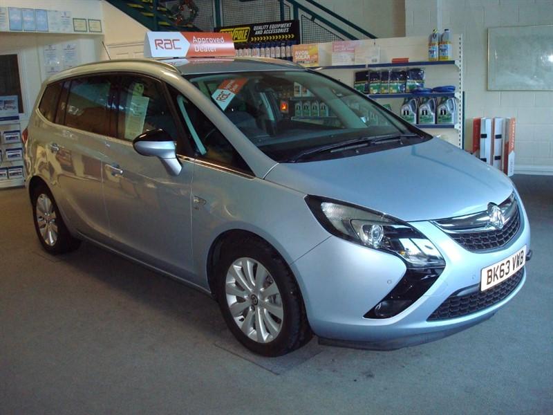 used Vauxhall Zafira Tourer SE CDTI in totnes-devon