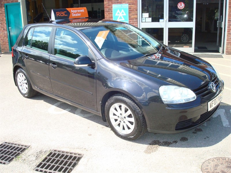 used VW Golf MATCH TDI DPF 105 in totnes-devon
