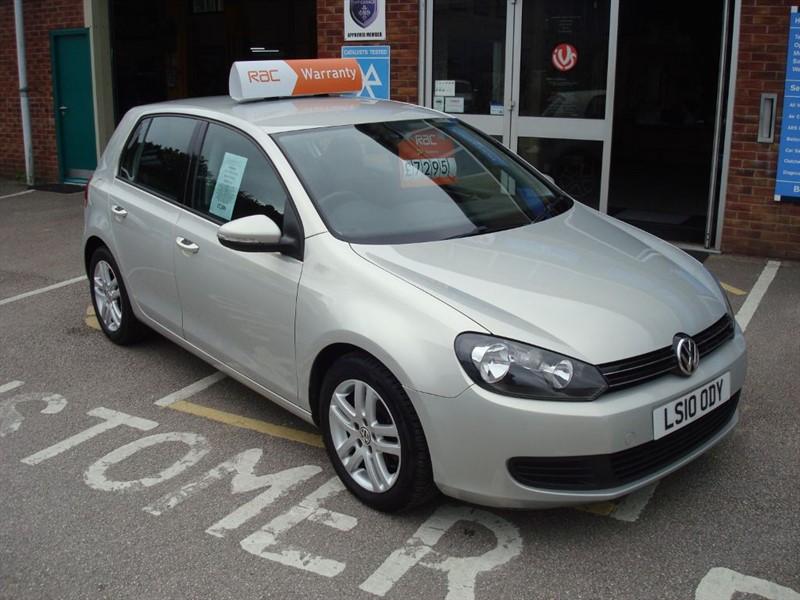 used VW Golf SE TSI DSG in totnes-devon