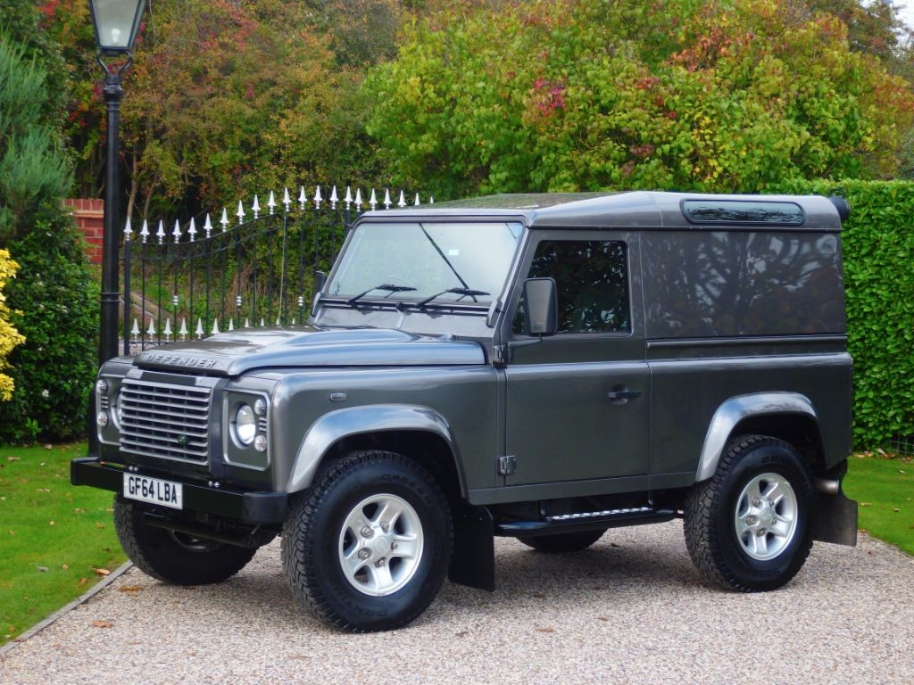 used corris grey land rover defender for sale essex. Black Bedroom Furniture Sets. Home Design Ideas