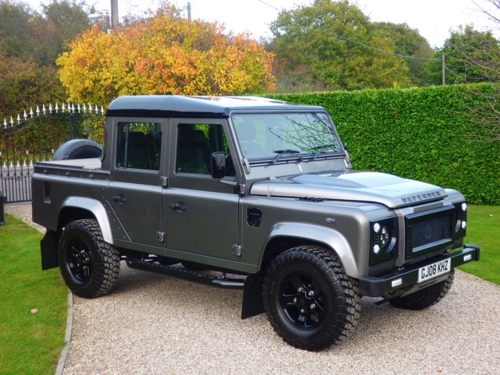 used stornoway grey land rover defender for sale essex. Black Bedroom Furniture Sets. Home Design Ideas