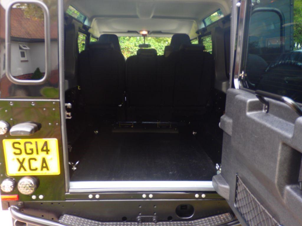 Used Santorini Black Land Rover Defender For Sale Essex Lights