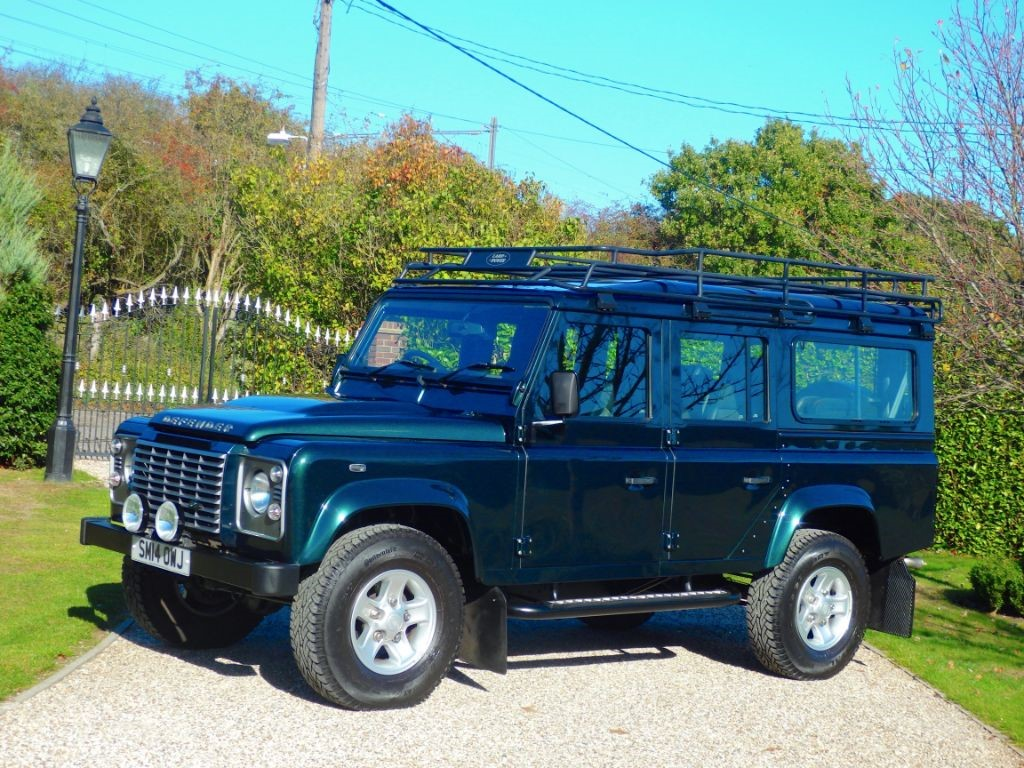 Used Aintree Green Land Rover Defender For Sale Essex 4 6 Engine