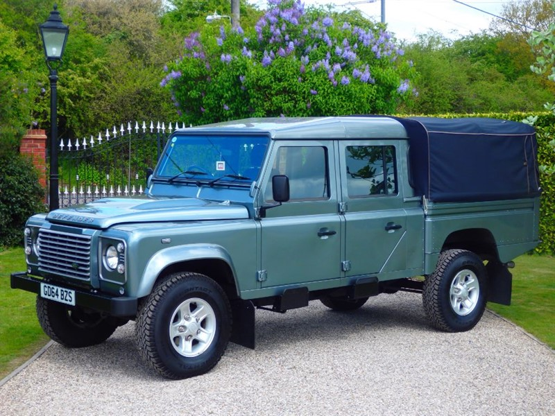 used Land Rover Defender 130 TDCI HIGH CAPACITY PICK UP DCB 1 OWNER! JUST 12,000 MILES! NO VAT! in chelmsford-essex