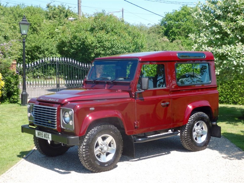 used Land Rover Defender 90 TDCI XS STATION WAGON 1 OWNER VAT Q £28,329.17 + VAT! RARE COLOUR! in chelmsford-essex