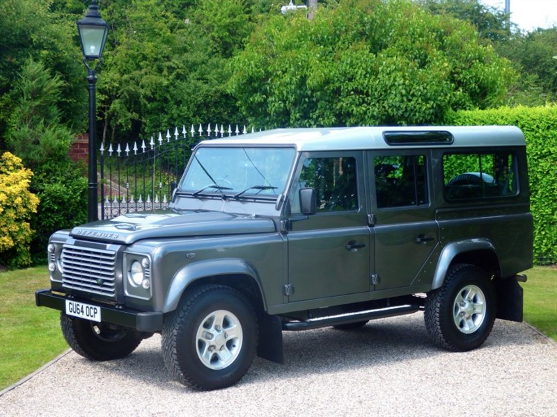 used Land Rover Defender 110 TDCI XS STATION WAGON 1 LADY OWNER! 7 SEATER! in chelmsford-essex
