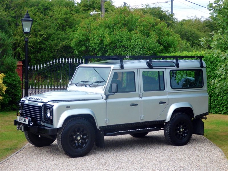 used Land Rover Defender 110 TDCI XS STATION WAGON GREAT EXTRAS! JUST 36,000 MILES! in chelmsford-essex