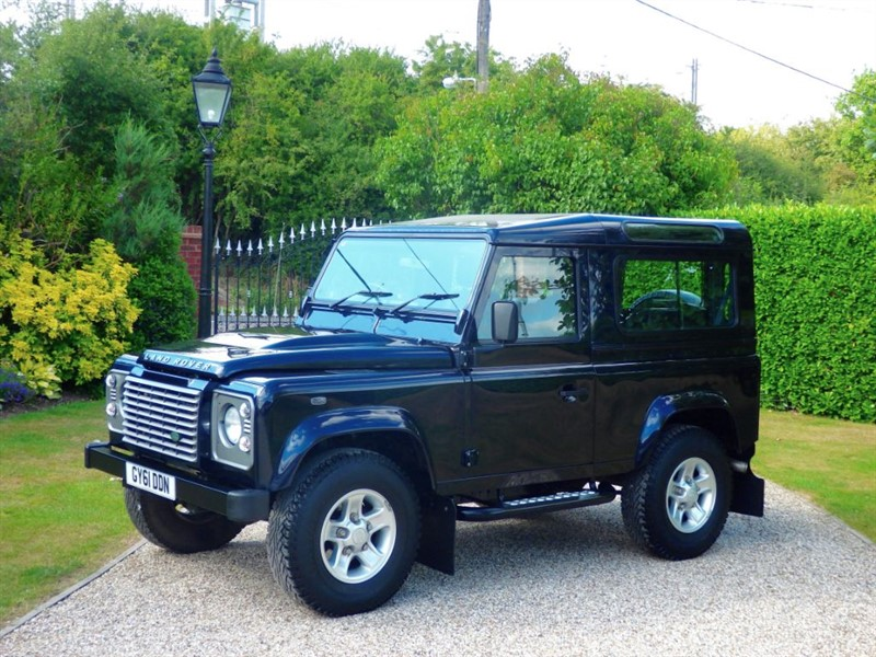 used Land Rover Defender 90 TDCI XS STATION WAGON JUST 33,000 MILES! VERY RARE COLOUR in chelmsford-essex