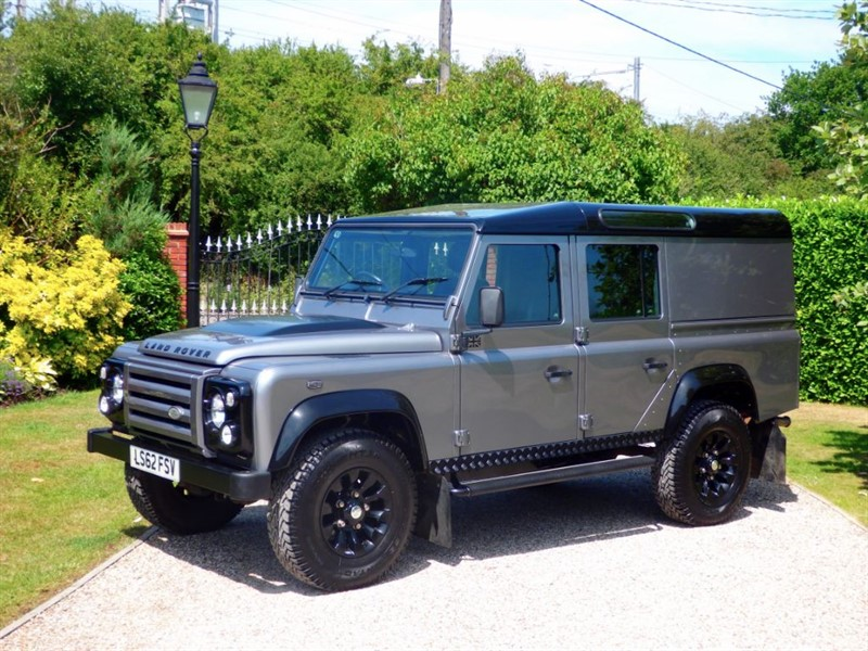 used Land Rover Defender 110 TDCI X-TECH LE UTILITY WAGON 1 OF JUST 90 BUILT! ONLY COVERED 19,000  in chelmsford-essex
