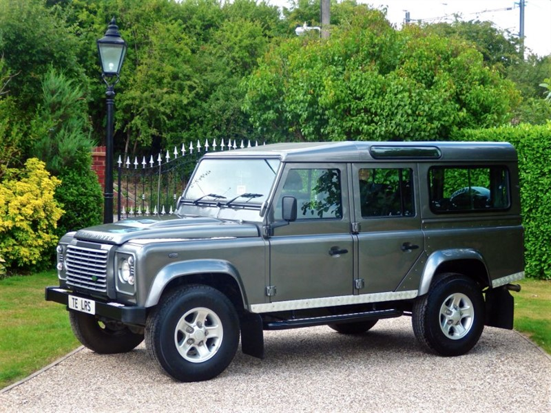 used Land Rover Defender 110 TDCI XS STATION WAGON EXCELLENT HISTORY! 1 LADY OWNER! JUST 37,000 MILE in chelmsford-essex
