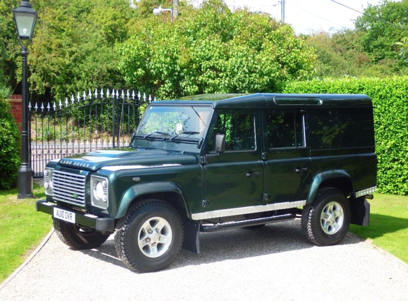 used Land Rover Defender 110 TDCI XS UTILITY WAGON 1 OWNER! FULL SERVICE HISTORY! NO VAT! in chelmsford-essex