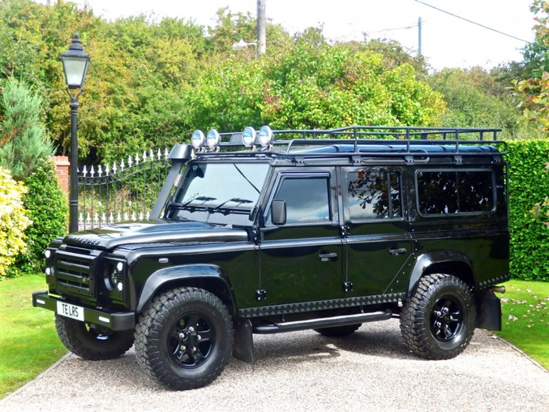used Land Rover Defender 110 TDCI XS STATION WAGON A REAL EYE CATCHER! MANY EXTRAS! in chelmsford-essex