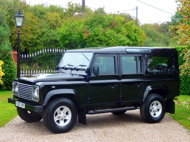 used Land Rover Defender 110 COUNTY STATION WAGON 7 SEAT CONFIGURATION! in chelmsford-essex